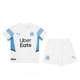 Camiseta Olympique Marsella Primera Equipación 2021/2022 Niño Kit