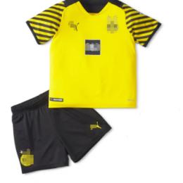 Camiseta Borussia Dortmund Primera Equipación 2021/2022 Niño Kit