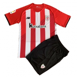 Camiseta Athlétic Bilbao Primera Equipación 2021/2022 Niño Kit